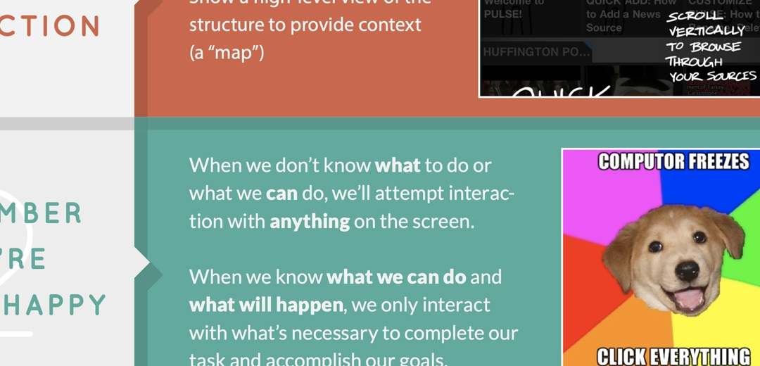 Predictability: 5 Principles of Interaction Design To Supercharge Your UI (4 of 5)