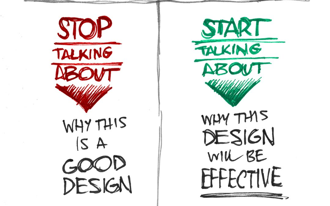 The difference between amateur and professional design